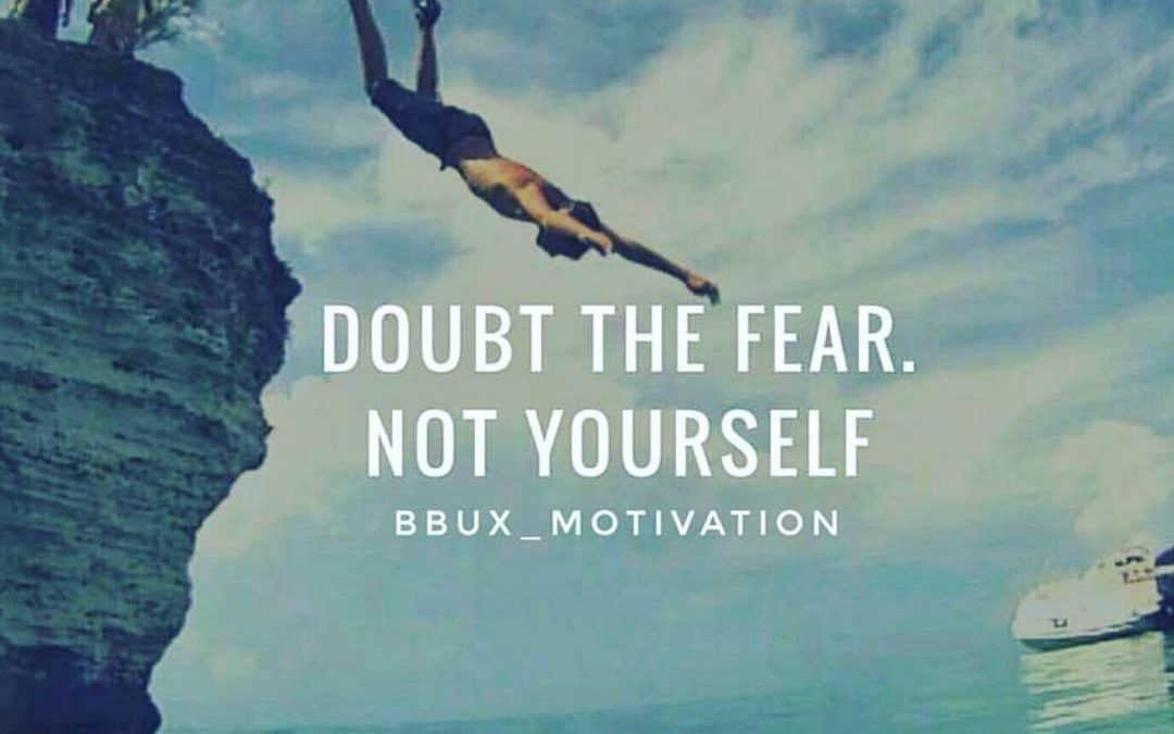 There are plenty of doubters out there, don't add yourself to the list especially when it comes to you and your goals! 🏅