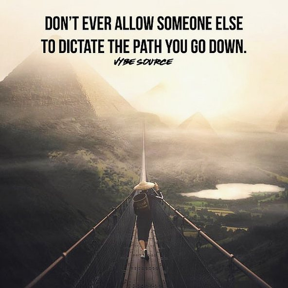 Don't let others determine your success. Dictate your own path, create your own destiny.  • • •