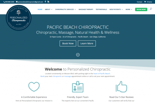 Personalized Chiropractic - Pacific Beach Chiropractor - San Diego CA